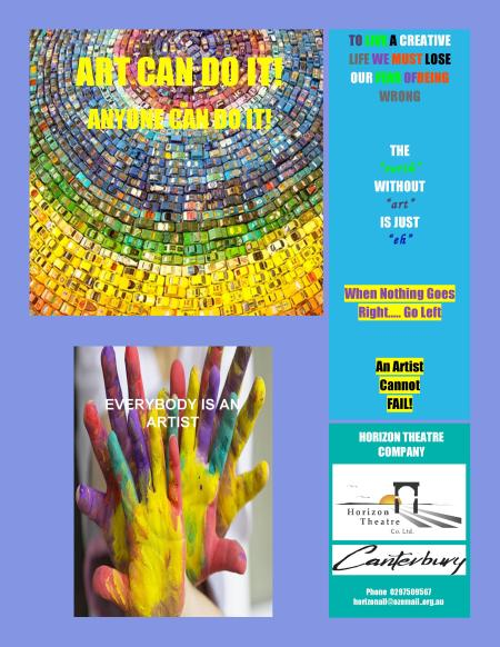 Art Can Do It program aims to provide a form of physical recreation to participants, build self-confidence and allow young people to express their creativity.