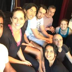 Shakespeare Secret and Push-up clowns performing arts workshop2.